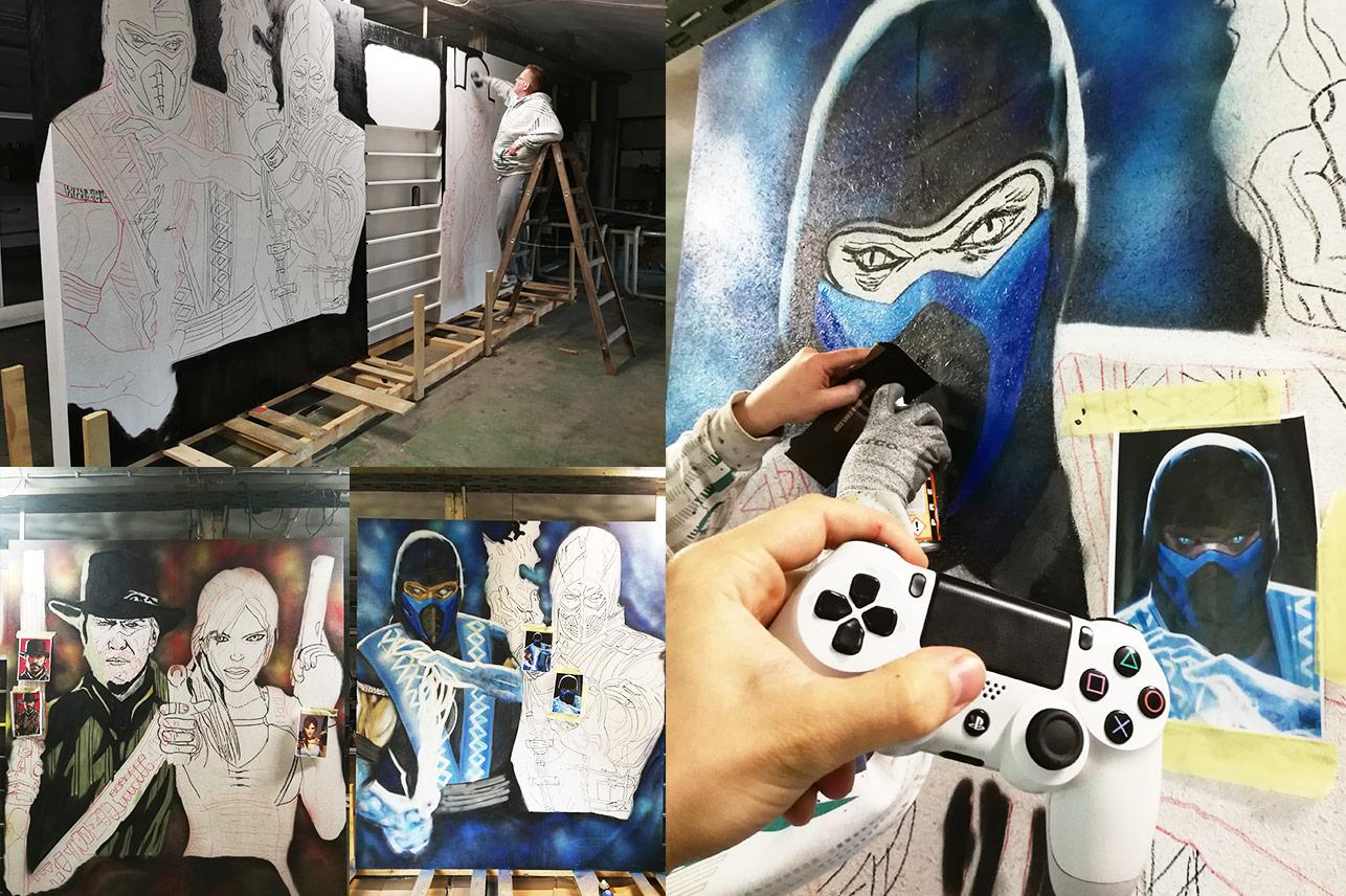 Budowa stoiska Uek Gaming