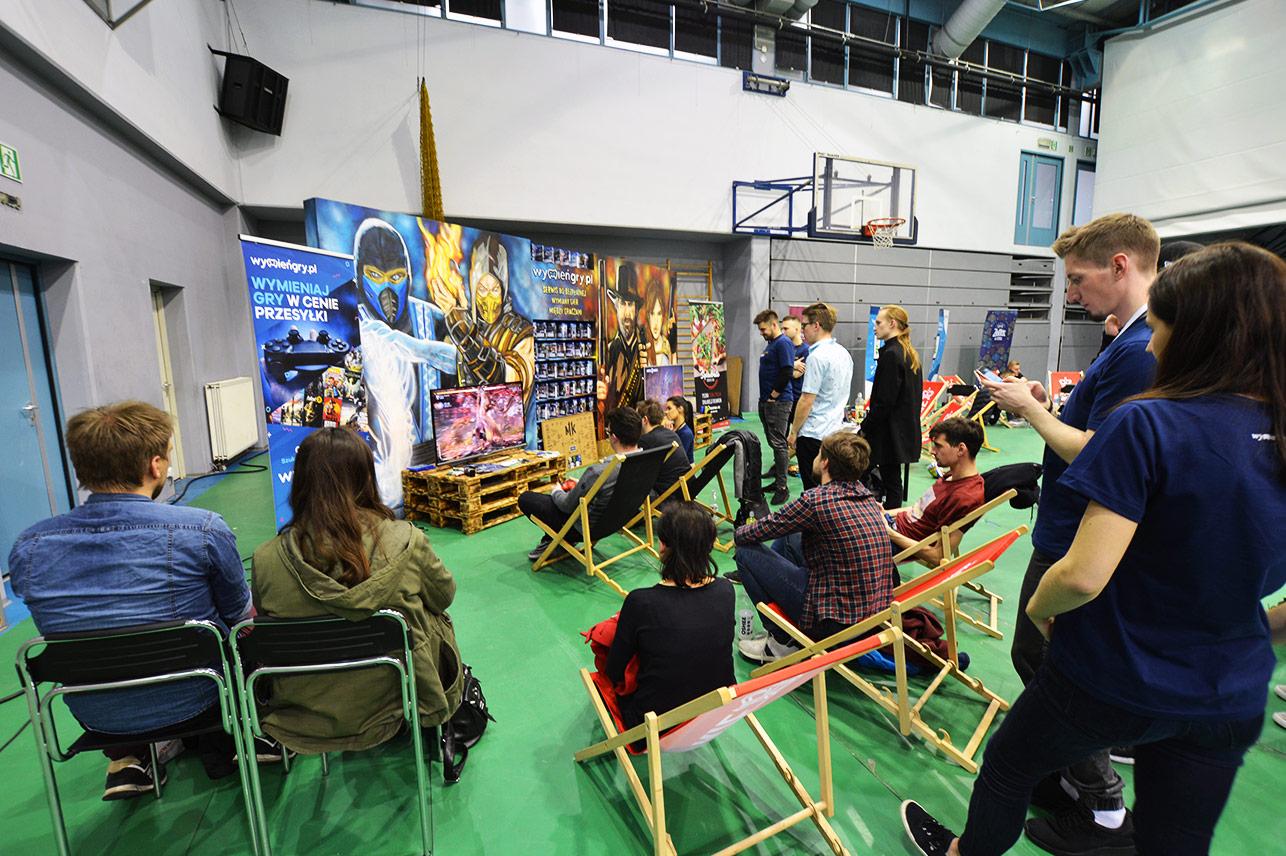 Uek Gaming Stage 2019 - stoisko WymieńGry.pl galeria