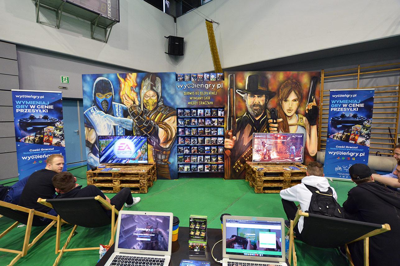 Stoisko WymieńGry.pl na Uek Gaming Stage 2019