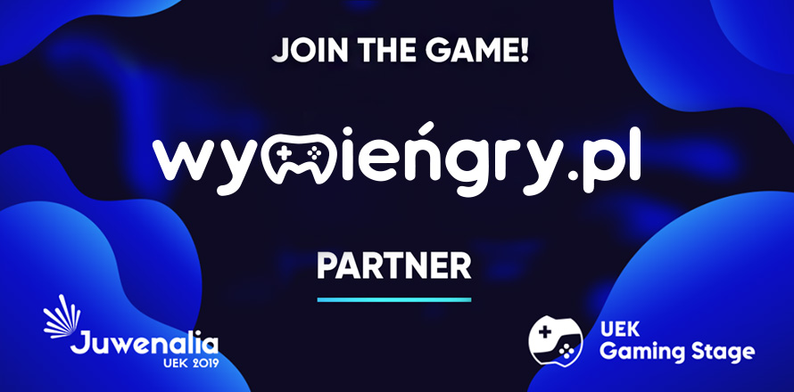 WymieńGry.pl partnerem Uek Gaming Stage 2019 - Eventy