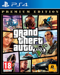 Grand Theft Auto V: Premium Edition  PS4