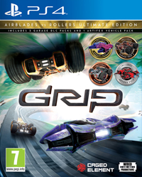 GRIP: Combat Racing - Rollers vs Airblades Ultimate Edition PS4