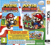 Mario and Donkey Kong: Minis on the Move + Mario vs. Donkey Kong: Minis March Again 3DS