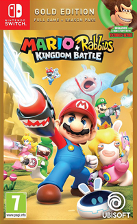Mario + Rabbids: Kingdom Battle - Gold Edition SWITCH