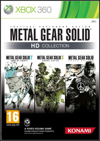 Metal Gear Solid HD Collection X360
