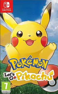 Pokemon: Let's Go, Pikachu! SWITCH
