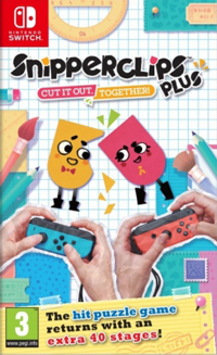 Snipperclips: Cut It Out, Together SWITCH