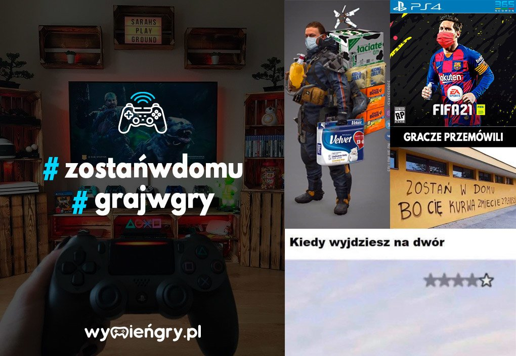 Gry podczas COVID